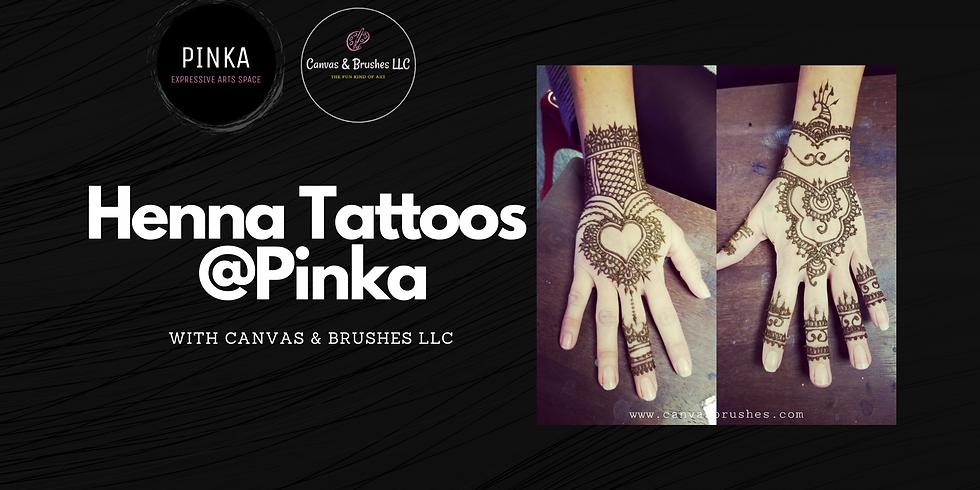 Henna Tattoos @Pinka