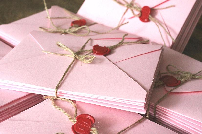 Obálka 125x175 cm růžová
