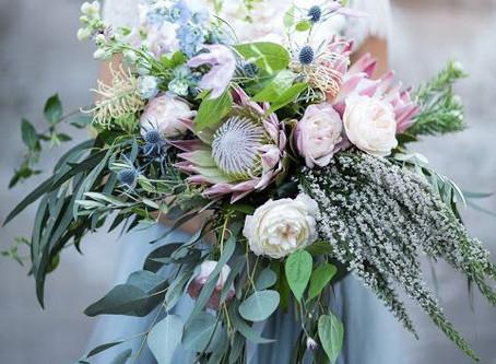 Svatební kytice pro fajnšmekry
