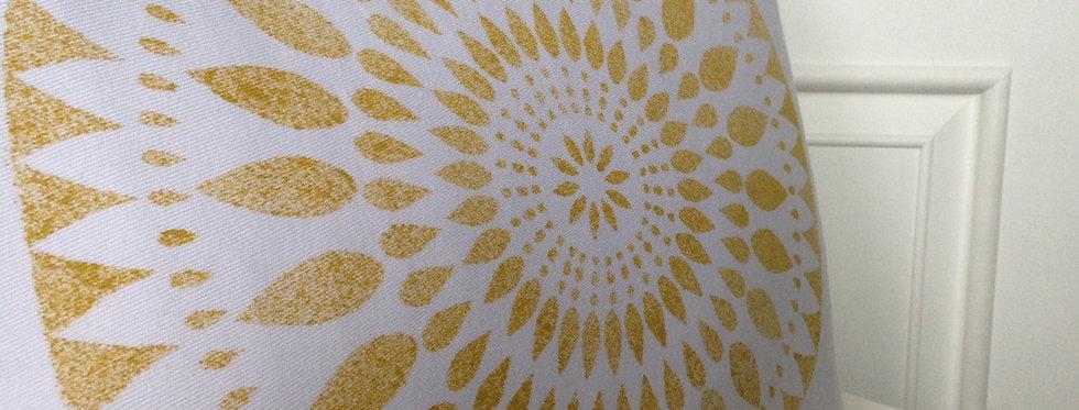 Povlak na polštář Slunečnice zlatá, 50x40