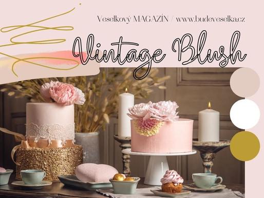 Inspirace týdne: Svatba Vintage Blush