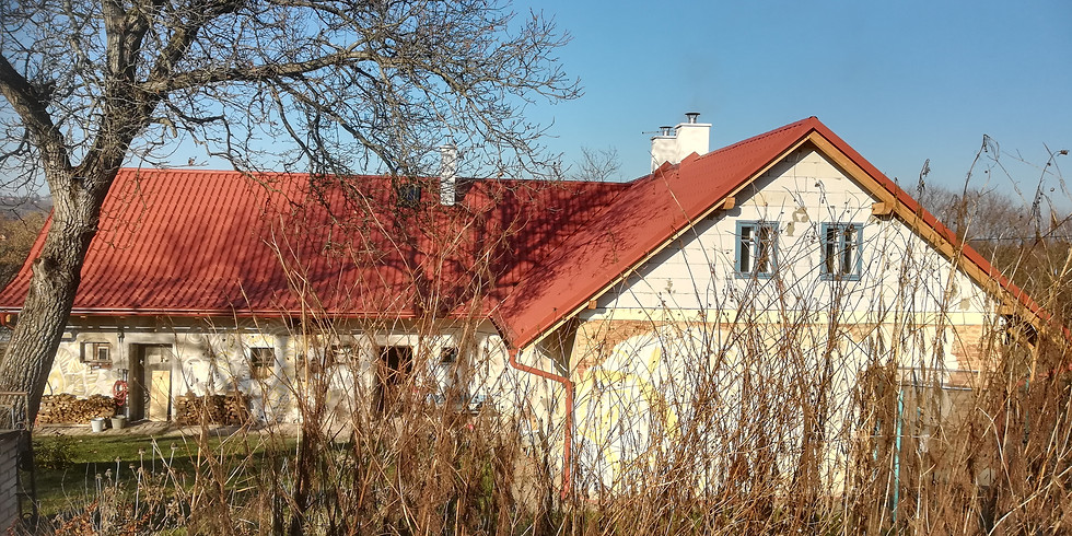 Rekonstrukce chalupy a její střechy