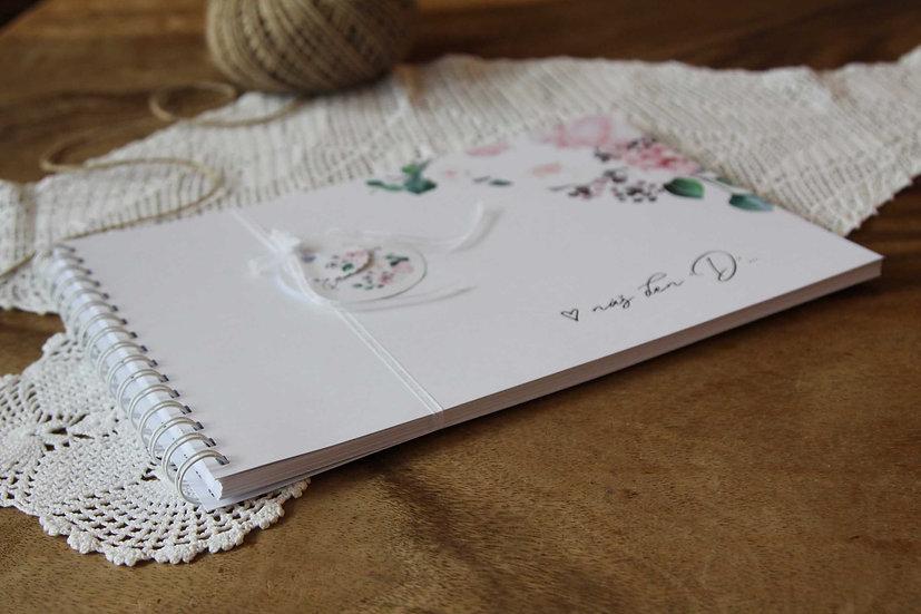 Kniha přání Pivoňky No.3, bílá 297x210, tištěná