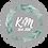 Thumbnail: Svatební jmenovky Lístky - šedá, 75x105 mm