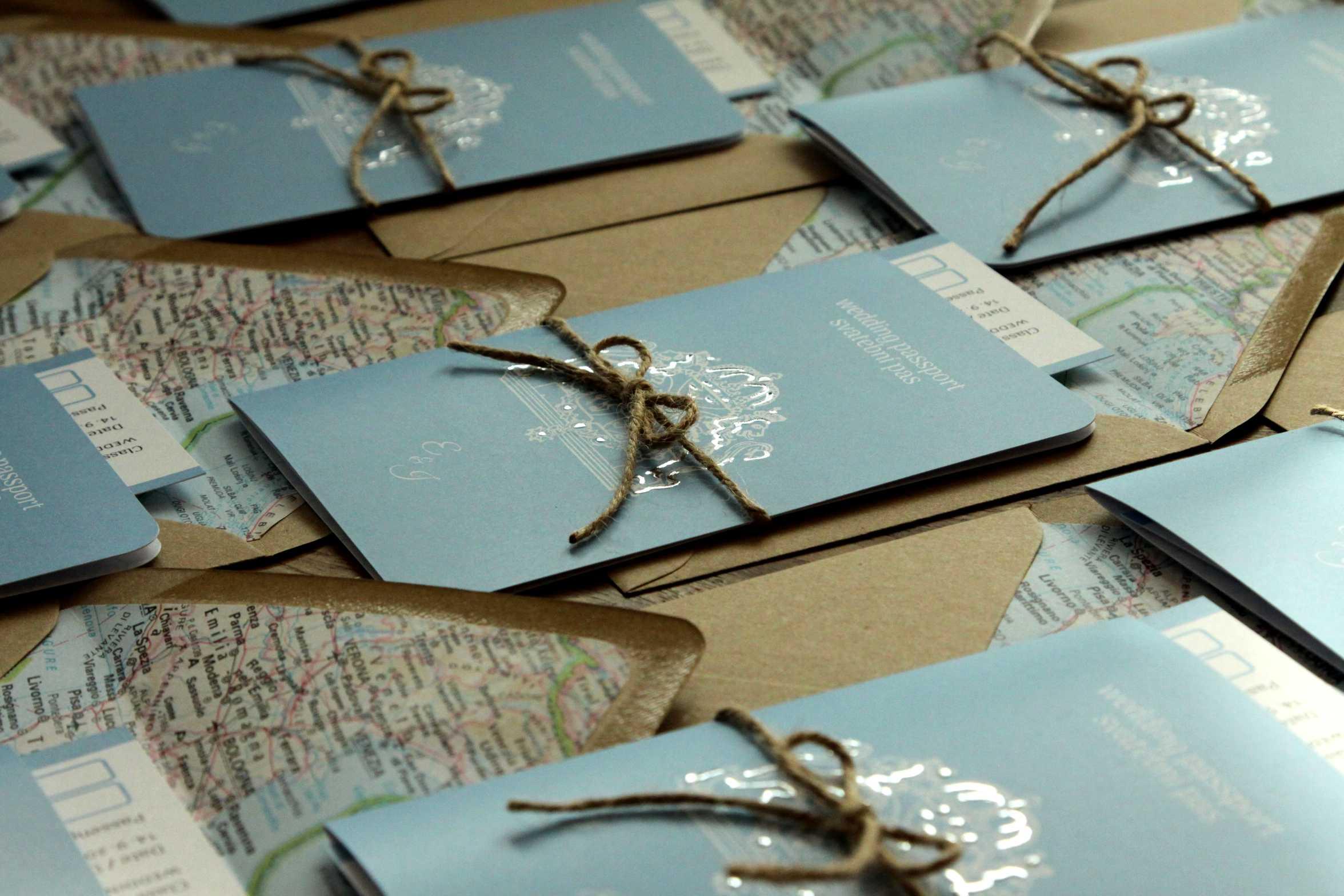 Svatební cestovní pas