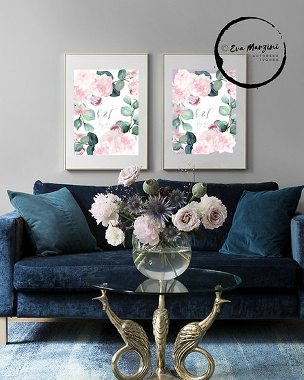 Obraz na památku Šípkové růže, na bílé
