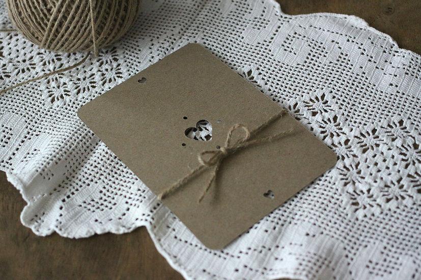 Přidat podkladový papír rustik, přírodní kraft