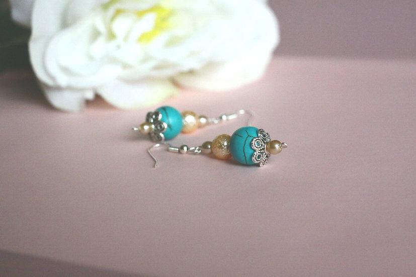 náušnice z perel pro nevěsty nebo družičky 249 Kč