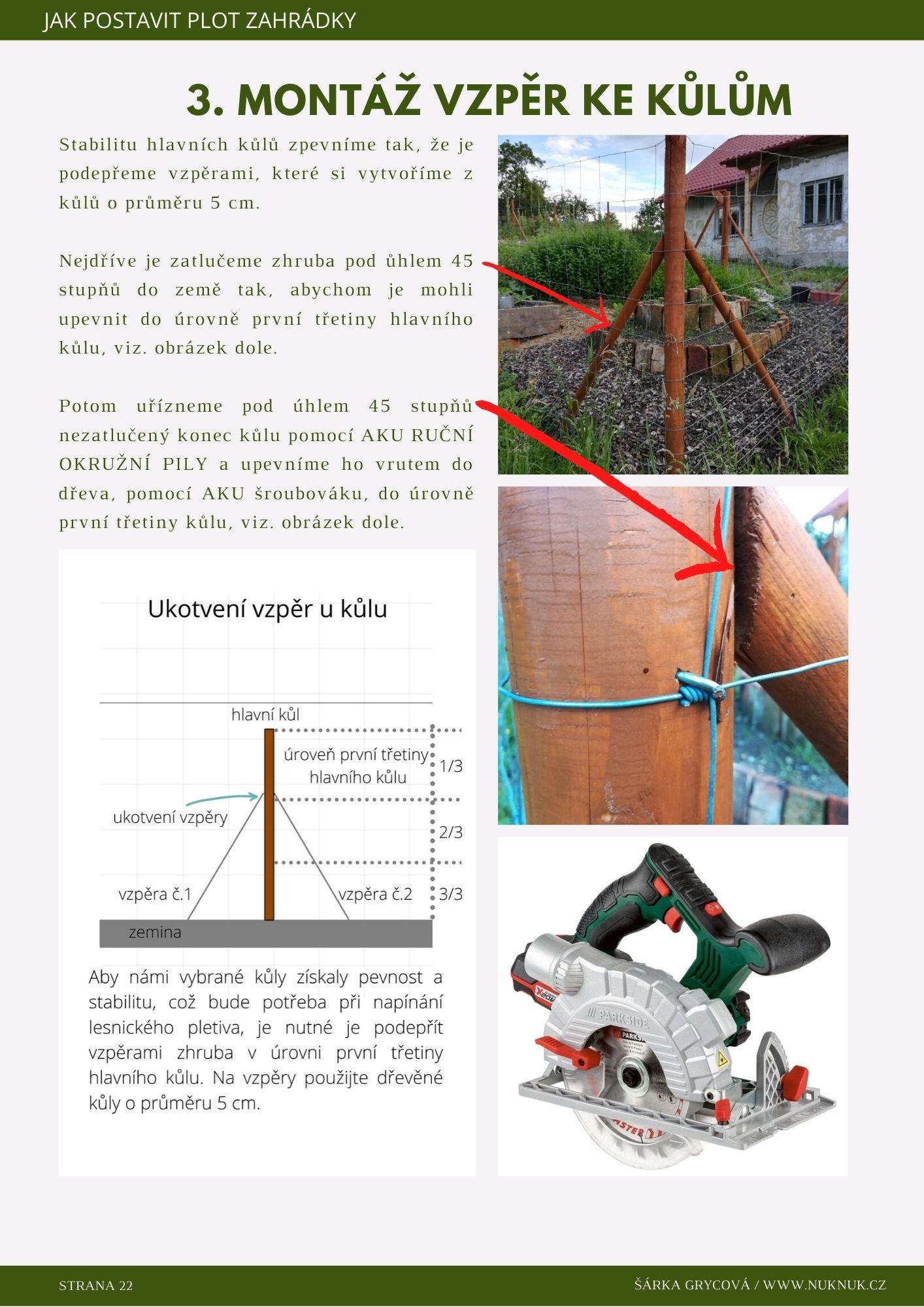 Jak postavit plot zahrádky