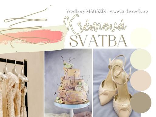 Inspirace týdne: Krémová svatba