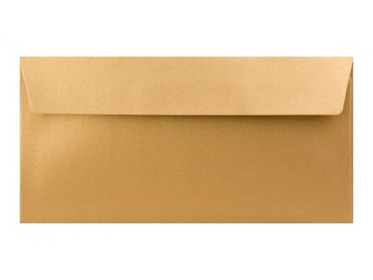 obálka perleťová zlatá 16,5 Kč / ks