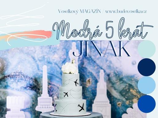 Inspirace týdne: Modrá svatba 5 krát jinak