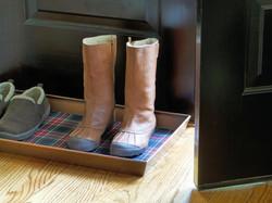 Tácek pro mokrou obuv
