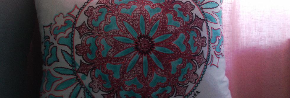 Povlak na polštář Pátá čakra, 50x40
