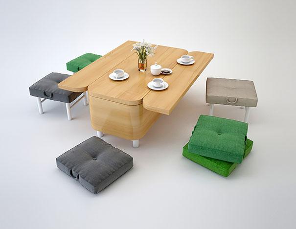 víceúčelové sofa