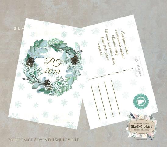 5-Vánoční pohlednice ADVENT SNÍH.jpg