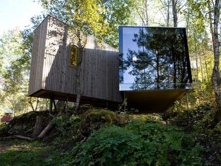 Ultramoderní dovolená v norských  lesích a fjordech