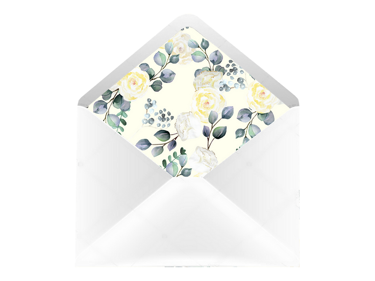 Obálka C6+ bílá - s vkladem Grace Kelly, No.2