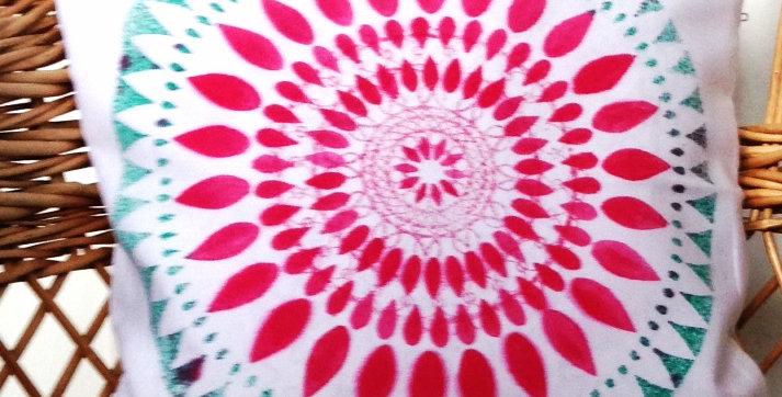 Povlak na polštář Slunečnice 6, 40x40