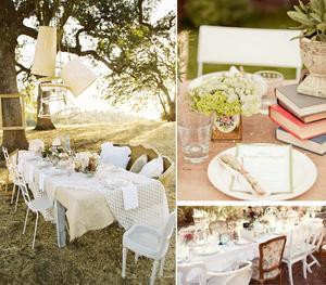 Vintage svatební hostina - inspirujte se!