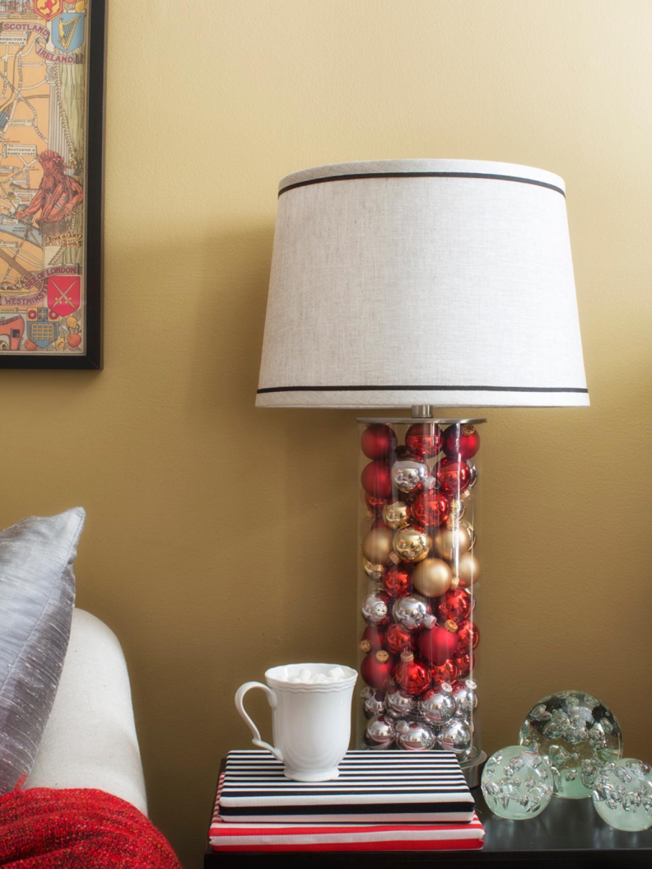 Lampy jsou taky vánoční