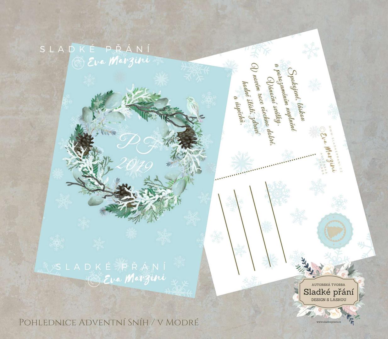 7-Vánoční pohlednice ADVENT SNÍH.jpg