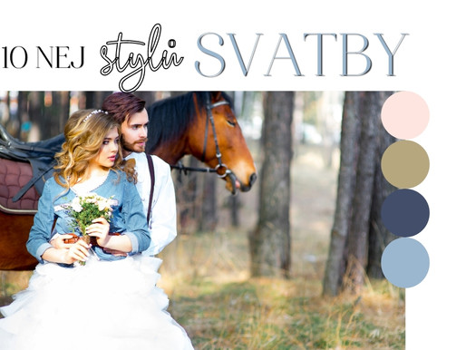 Inspirace týdne: 10 nej stylů svateb