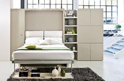 Sedačka,obývací stěna a postel