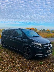 Mercedes-Benz V-klasse в Карелии