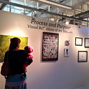 Process and Purpose: Visual Reflections of Art Teachers