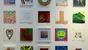 10 x 10 INVITATIONAL:  200 Works   100+ Artists   $50