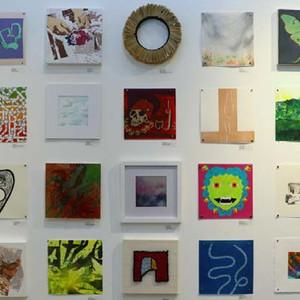 10 x 10 INVITATIONAL:  200 Works | 100+ Artists | $50