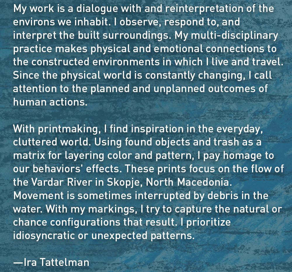 Artist Statement: Ira Tattelman