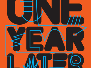 ONE YEAR LATER curated by Molly Ruppert