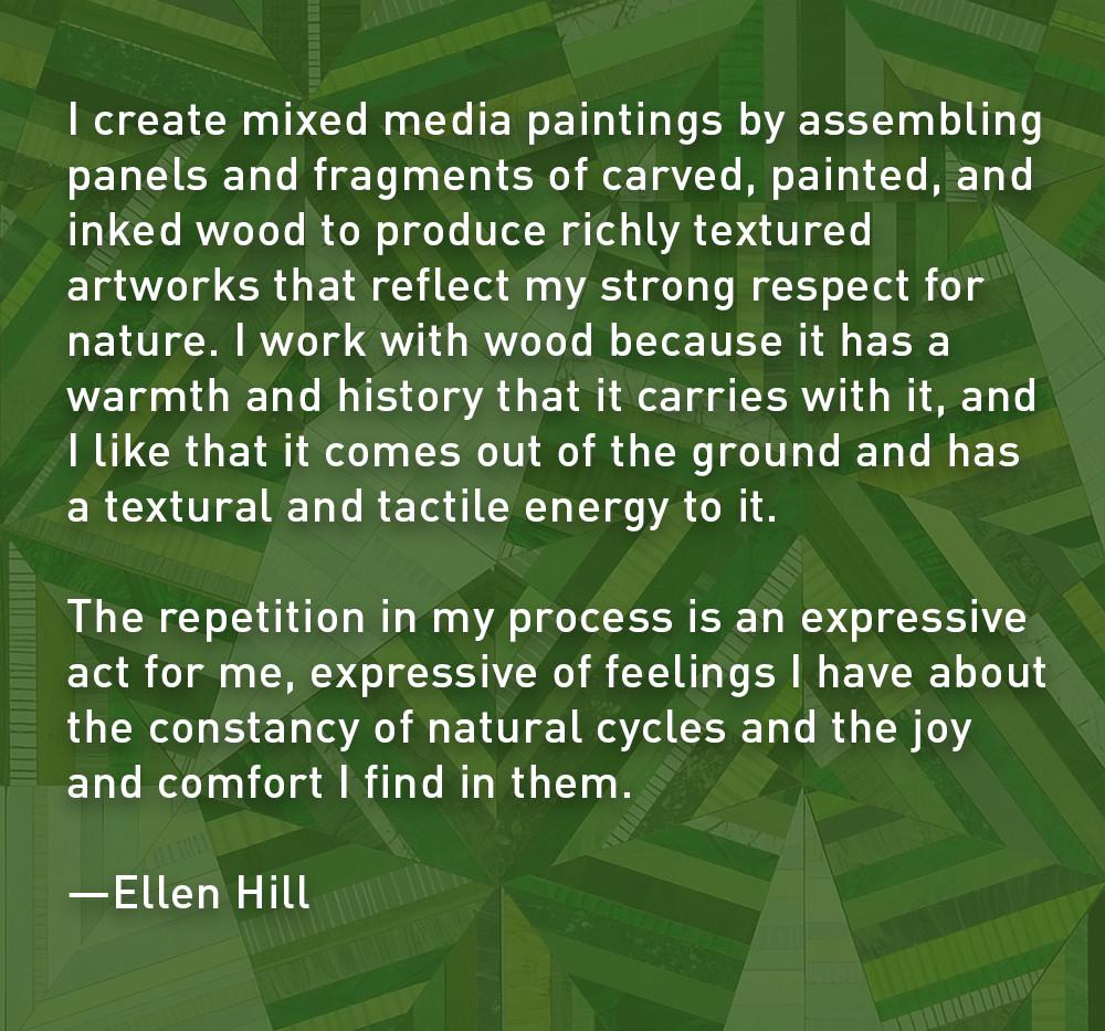 Artist Statement: Ellen Hill