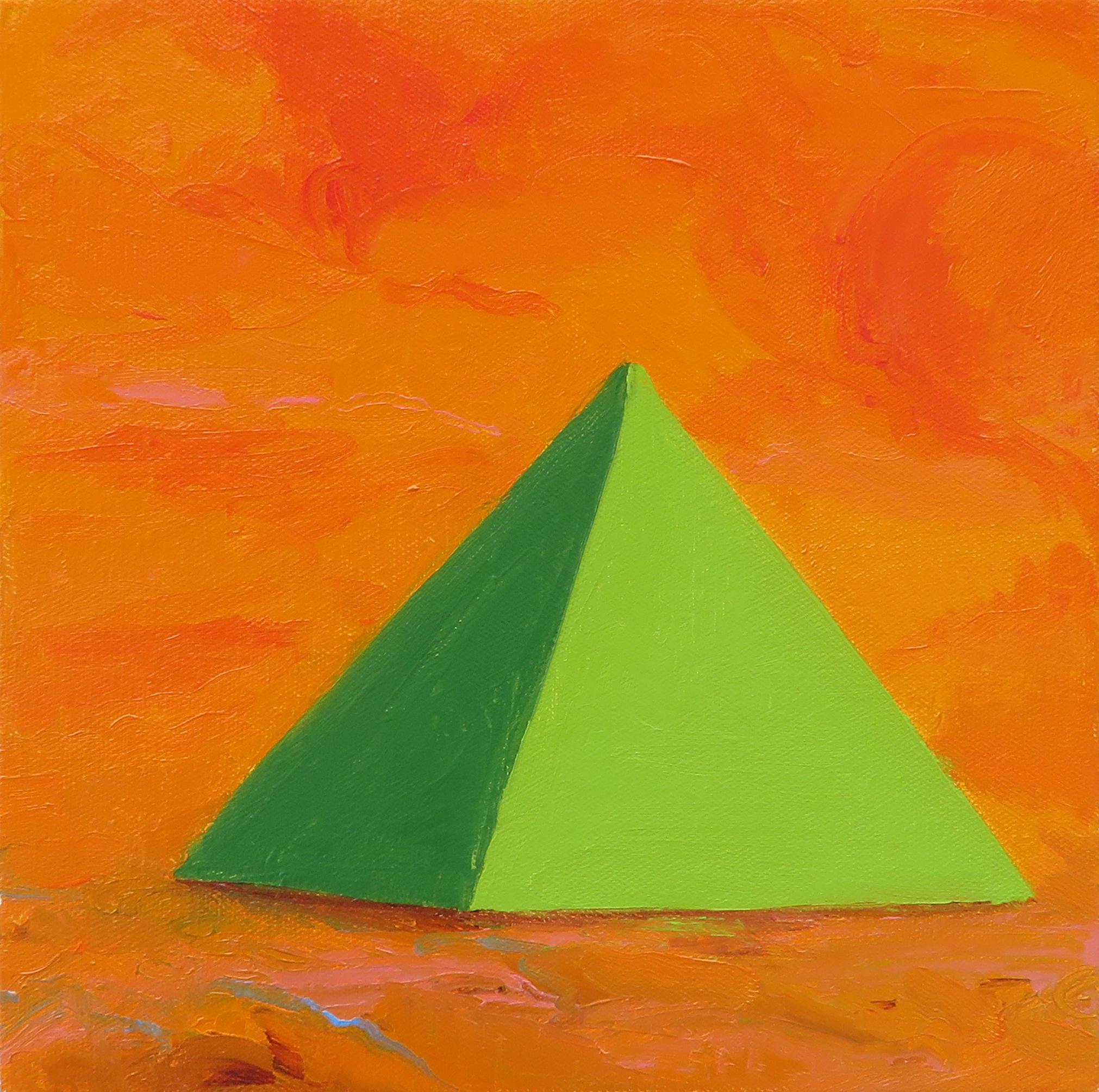 Pyramid 3, Green