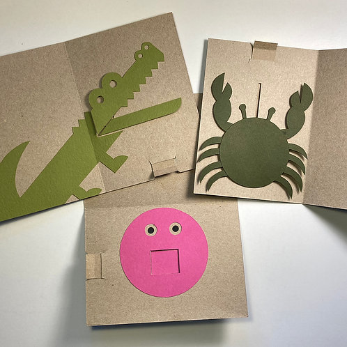 Cereal Box Mechanical Cards; Oct 6; 10am-12pm
