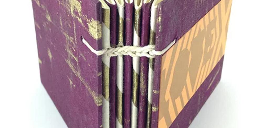 Double-Needle Coptic Stitch