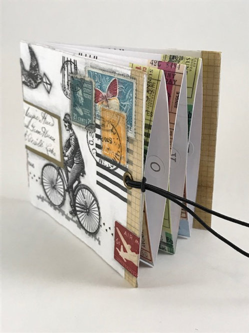 Upcycled Mail Art Wallet Online; Nov 14; 10am-1pm