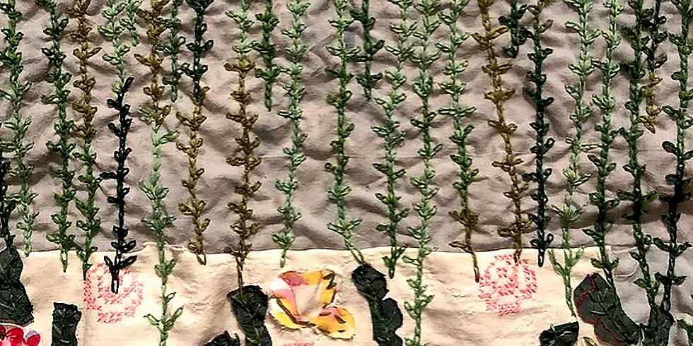 Pierce, Stab, Stitch: Embroidery as Book Arts