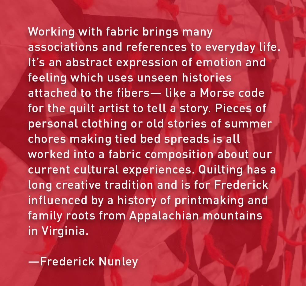 Artist Statement: Frederick Nunley