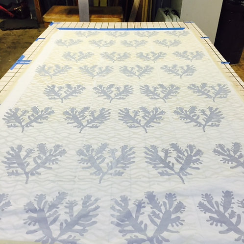 One-on-One Large-Scale Repeat Pattern Screenprinting (3 hours)