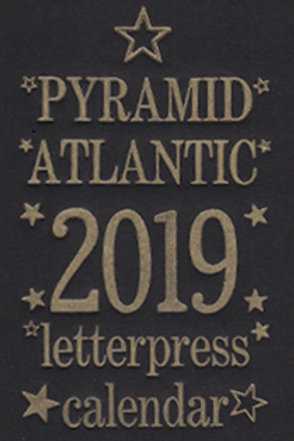 2020 Pyramid Letterpress Calendar (Shipping)