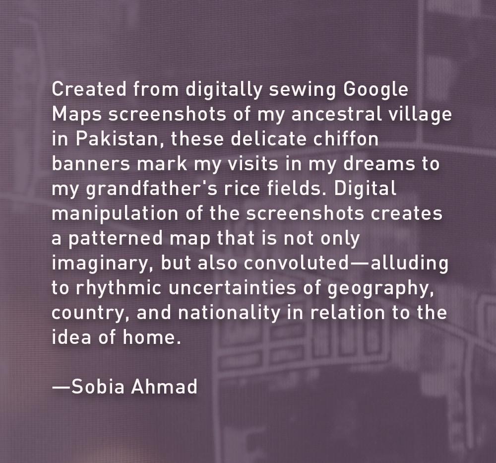Artist Statement: Sobia Ahmad