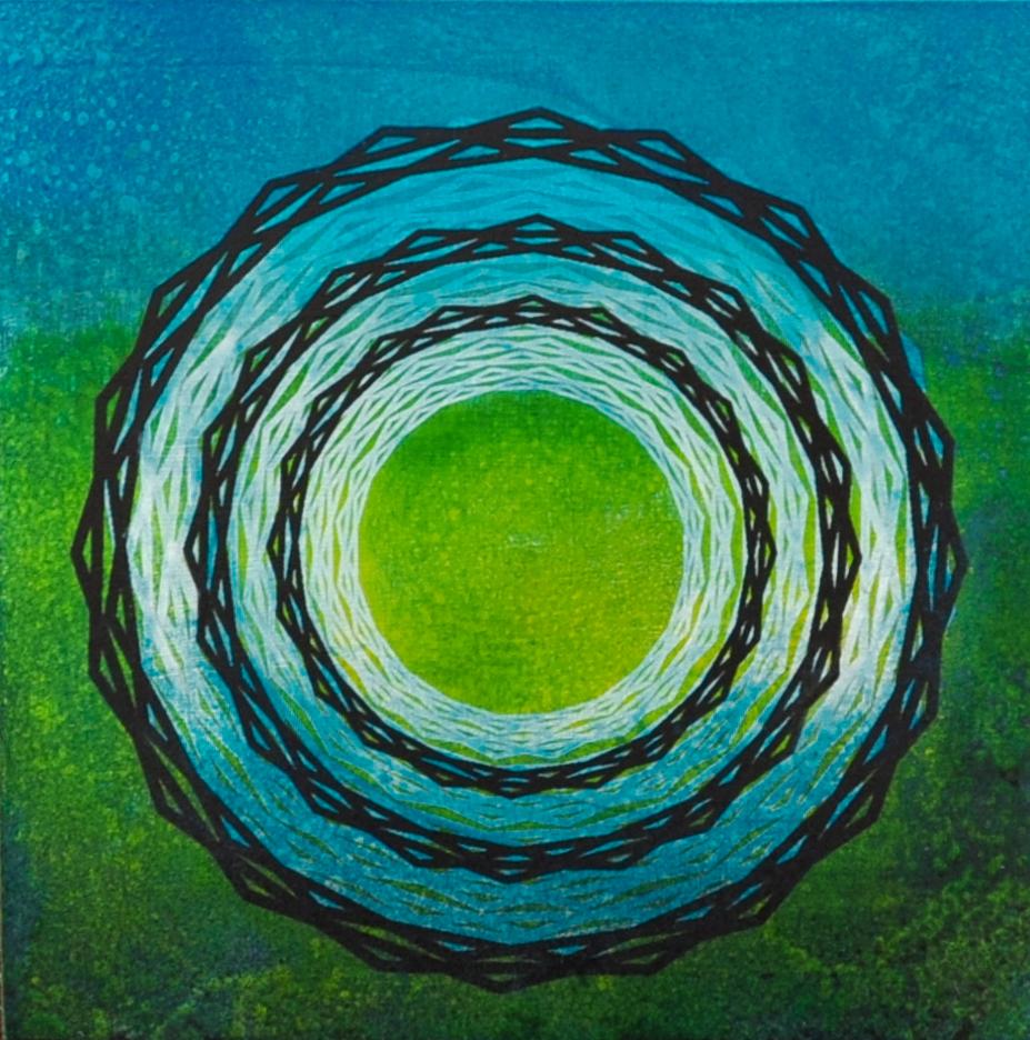 Aqua Circle 1