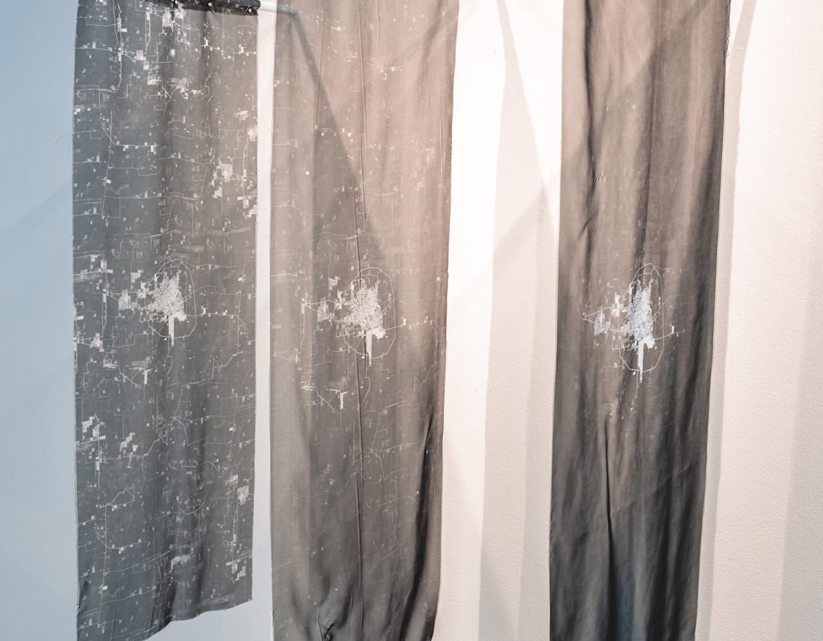"SOBIA AHMAD  ""Untitled (Landmark) 2020"" (detail 1)  Photograph by StereoVision"
