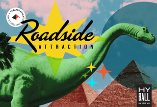VISIT THE BIGGEST PYRAMID ON THE EAST COAST FOR HYBALL 2020: ROADSIDE ATTRACTION! Feb 29th, Get Your