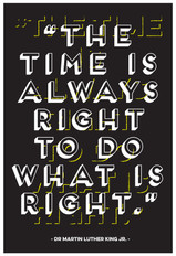 """""""The Time is Always Right …"""" by Gerard Watson"""