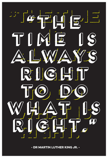 """The Time is Always Right …"" by Gerard Watson"