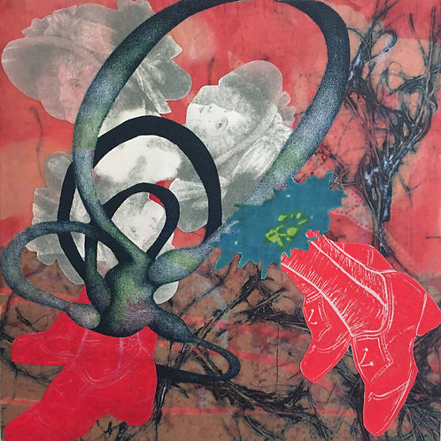 Mounted Mixed Media Wonders Online; Oct 11 and 18; 1pm-5pm